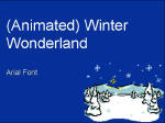 Free animated winter theme powerpoint templates