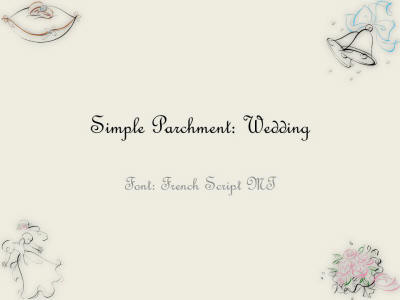 Download free powerpoint backgrounds and templates at brainy betty simple parchment wedding presentation toneelgroepblik
